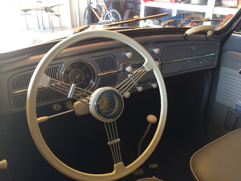 VW kever cabrio 1959 dashboard
