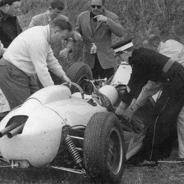 Stirling moss crash goodwood