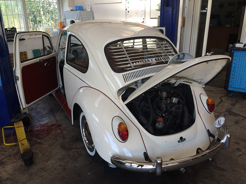 witte VW kever