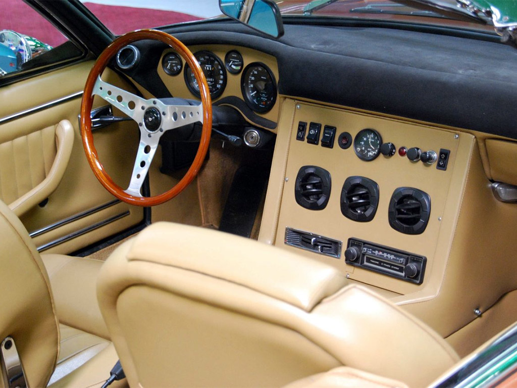 monteverdi 375/4 highspeed interieur