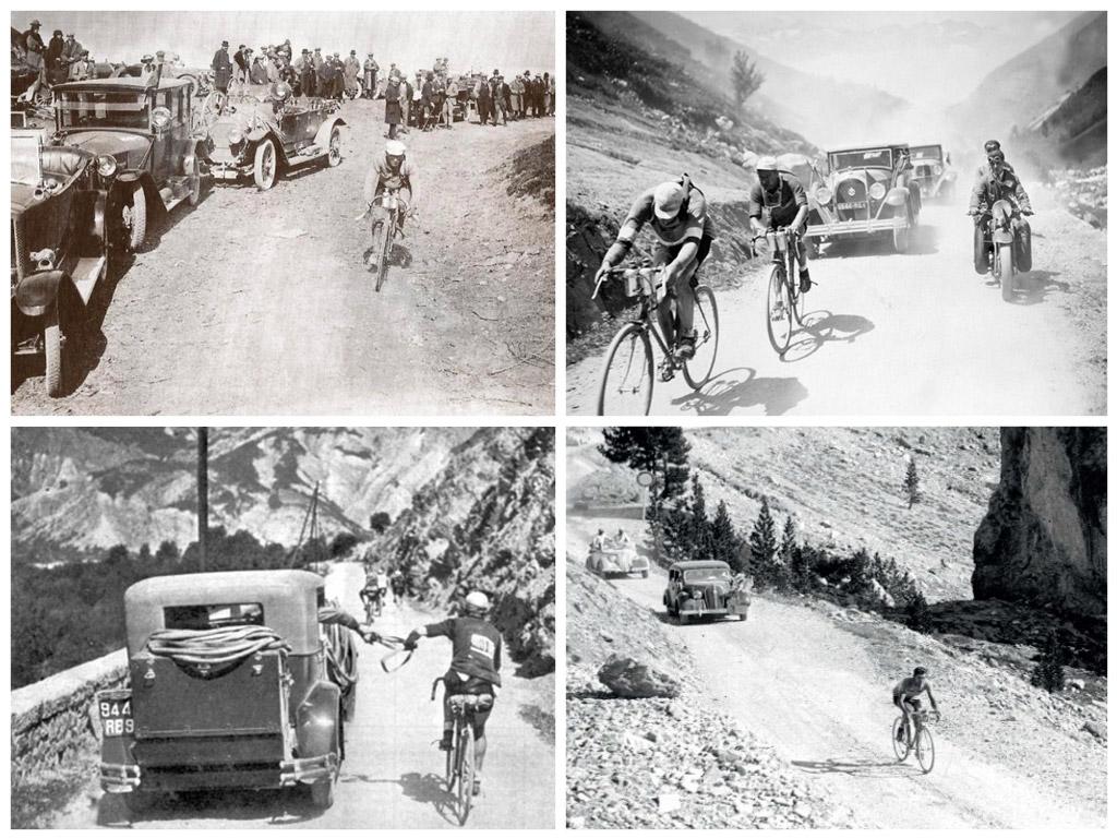 oude beelden Tour de France