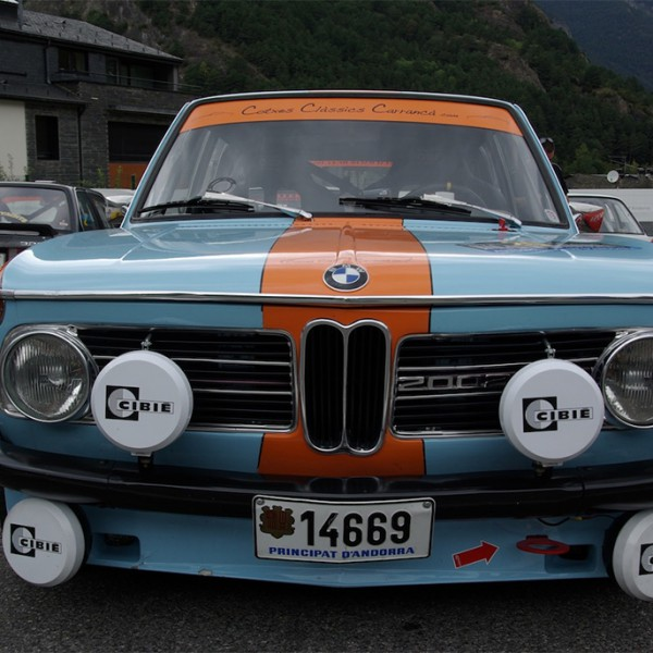 BMW rally andorra
