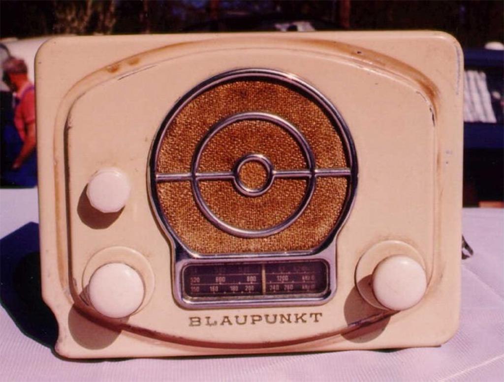 Blaupunkt FM radio 1952