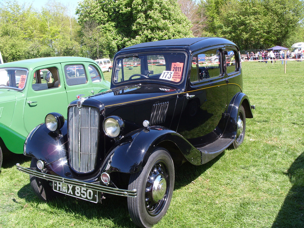 Morris Eight 1938 series 2