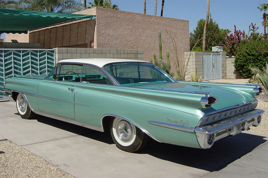 Oldsmobile 98 1959 holiday