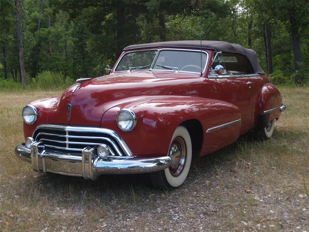 Oldsmobile 98 cruiser cabrio 1947