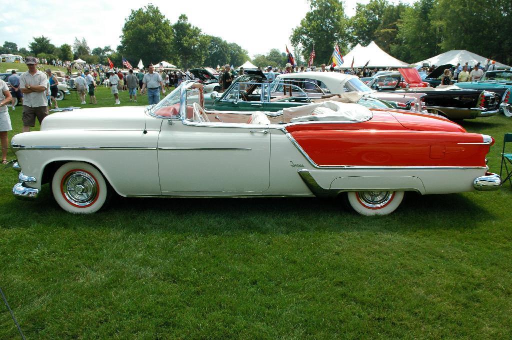 Oldsmobile Fiesta cabrio 1953