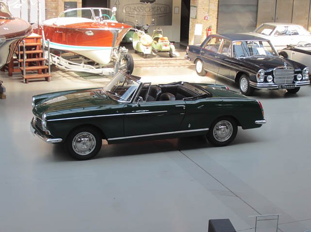 Peugeot 404 1967 cabrio