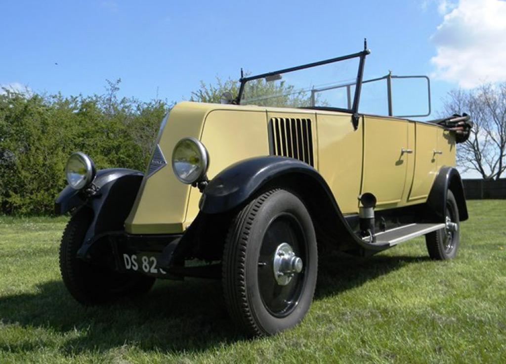 Renault 6CV NN tourer 1928 indiana jones