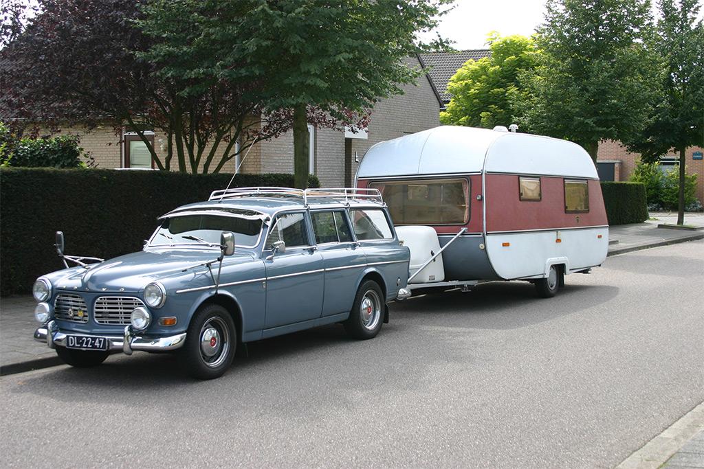 De Oldtimer En Zijn Caravan Klassiekerweb