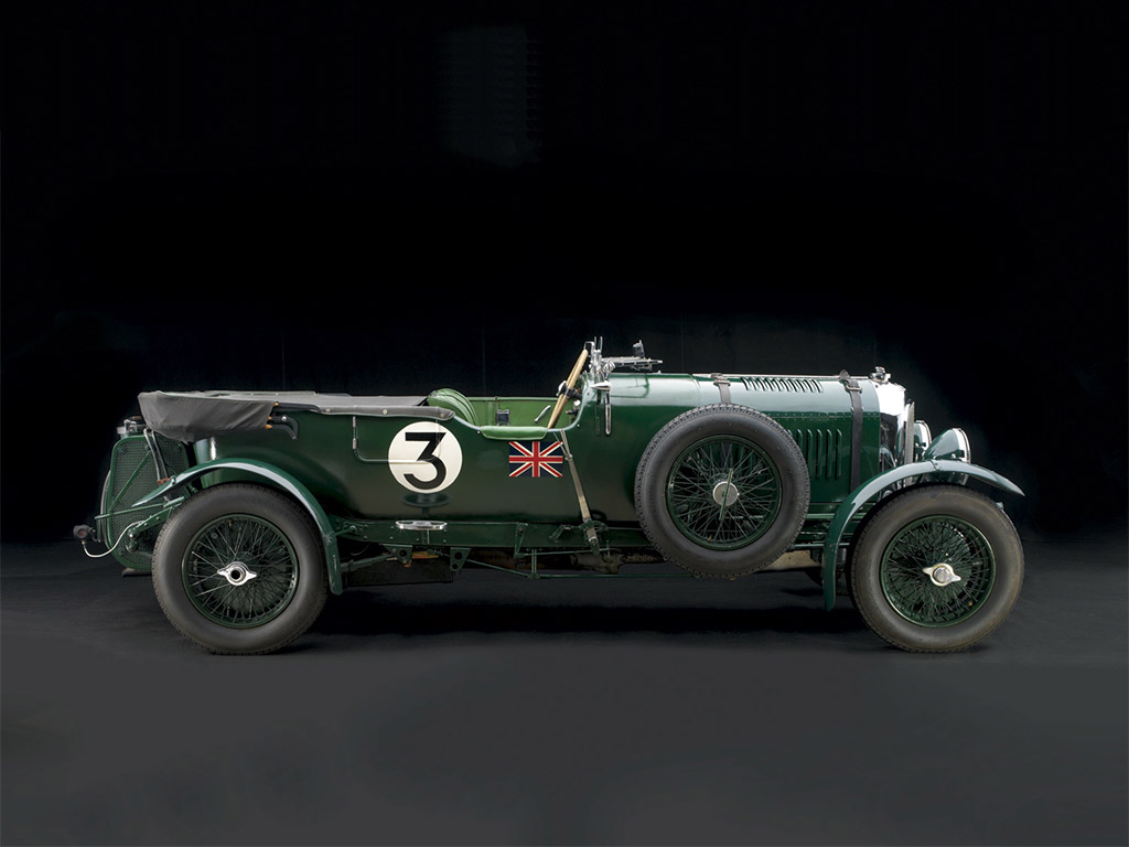 bentley blower 4,5 liter uit 1931