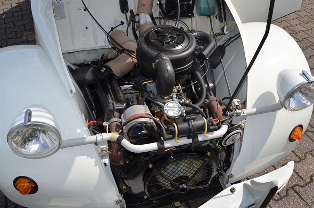 citroen 2 CV6 CLUB S6 1987 motor