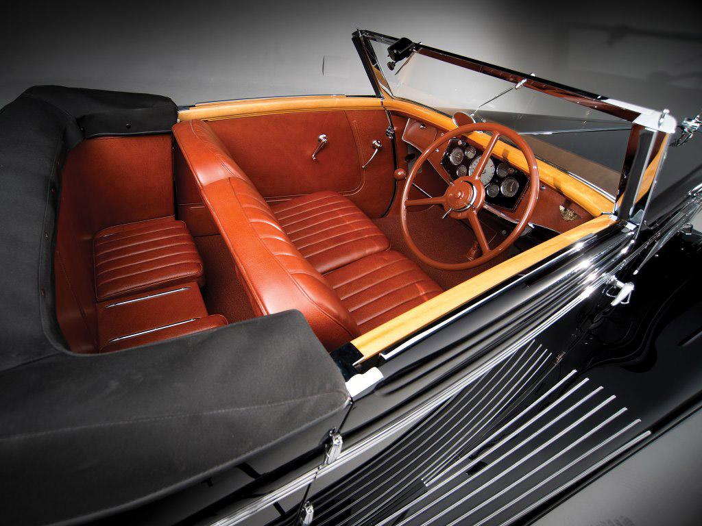 hispano suiza K6 1935 cabrio