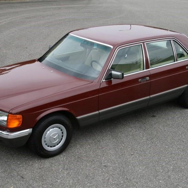 mercedes 380SEL 1982