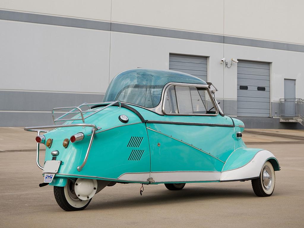 messerschmitt KR200 1952 achterzijde