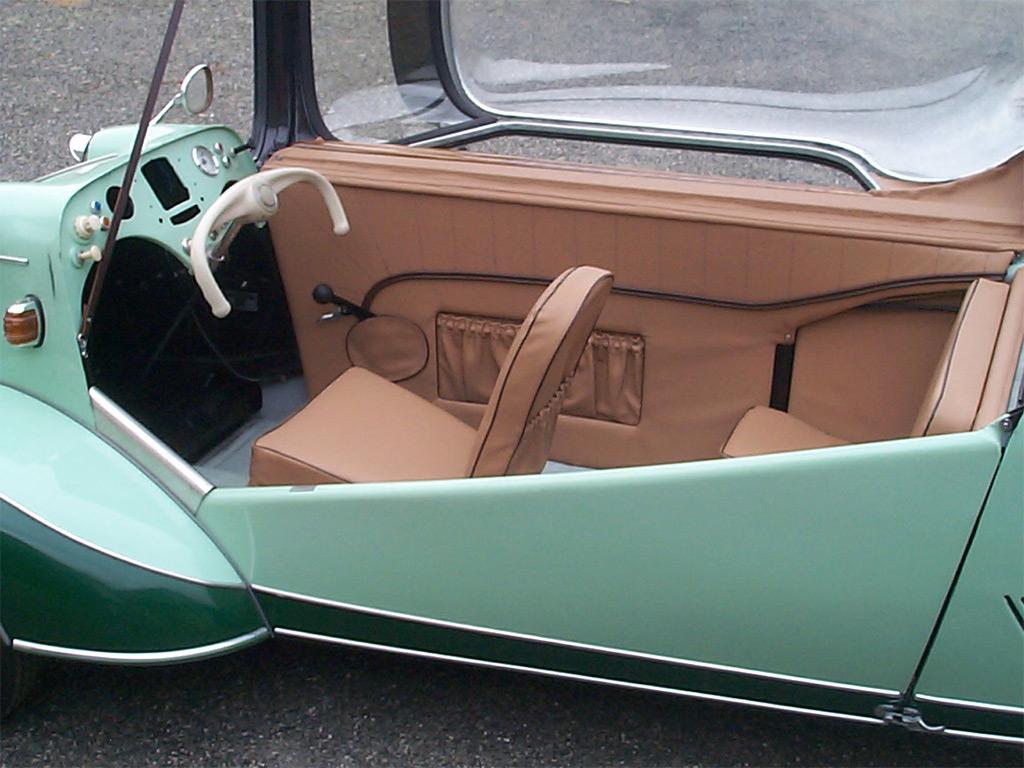 messerschmitt KR200 1952 interieur