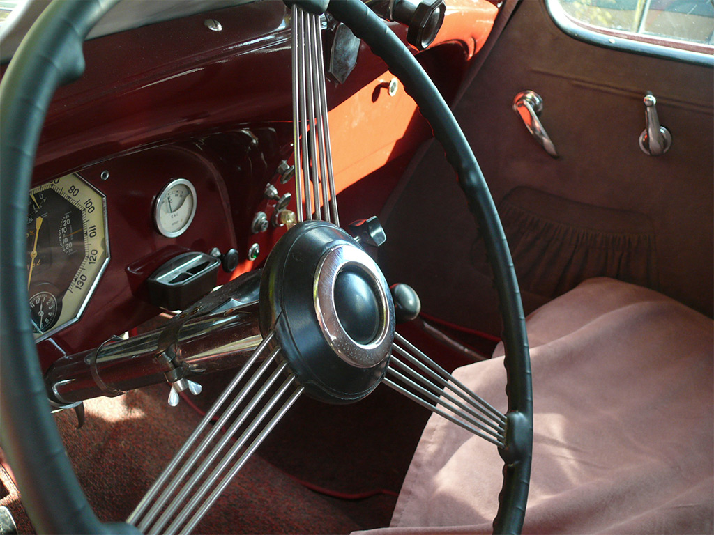 renault celtaquatre 1934 interieur