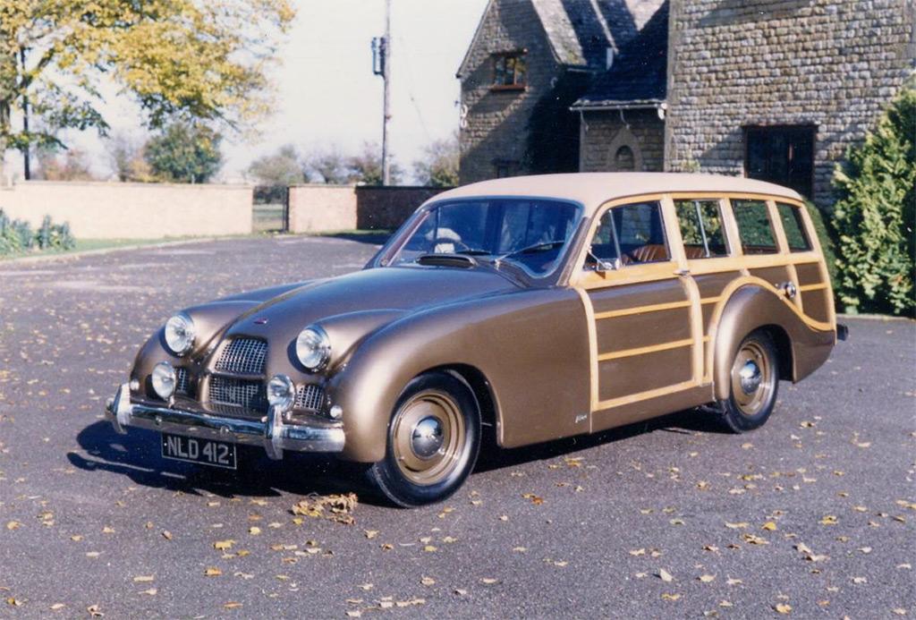 Allard P2 safari 1955