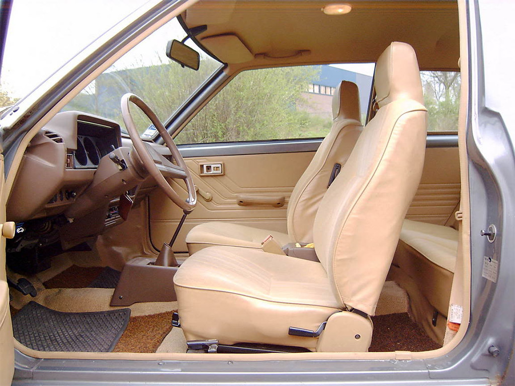 Datsun cherry interieur 1981