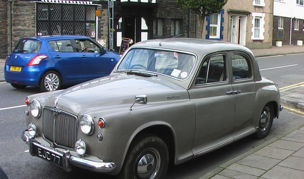 Rover P4 105S 1958