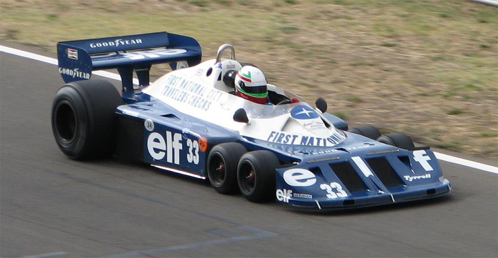 Tyrrell P34 Formula 1 auto