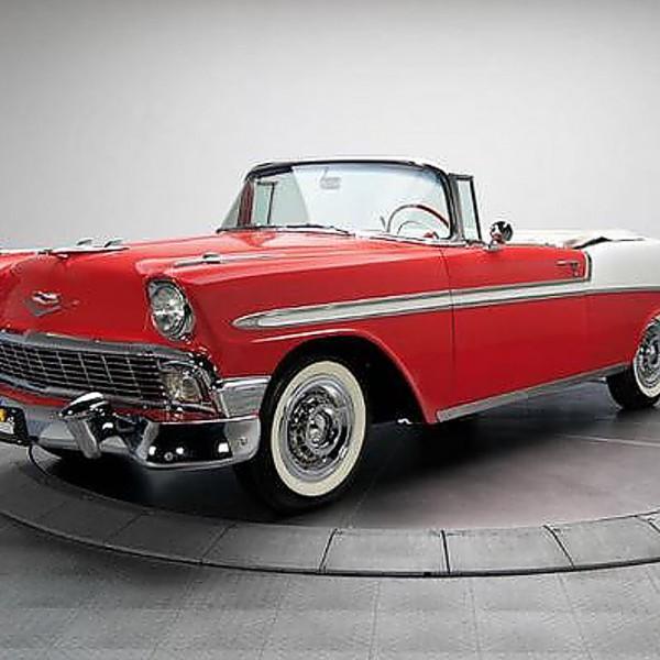 chevrolet bel air convertible 1956