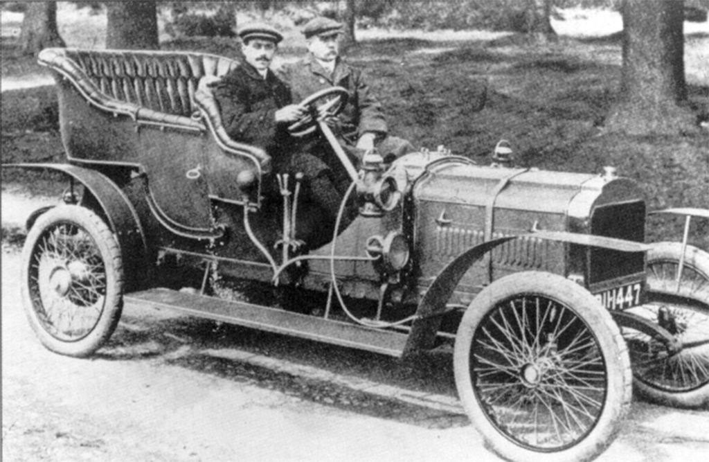 hillman coatalen 24hp 1908