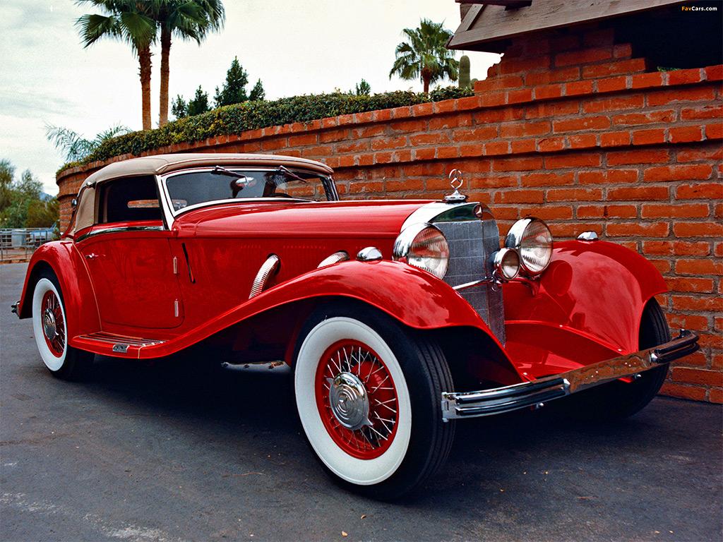mercedes typ 380 cabrio 1933