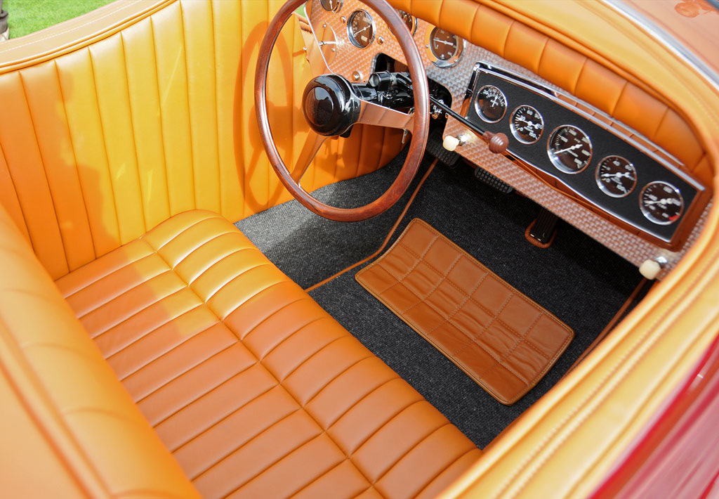 norman timbs custom 1948 interieur