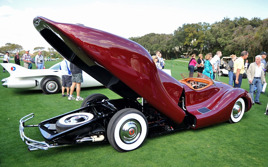 norman timbs custom 1948 motor