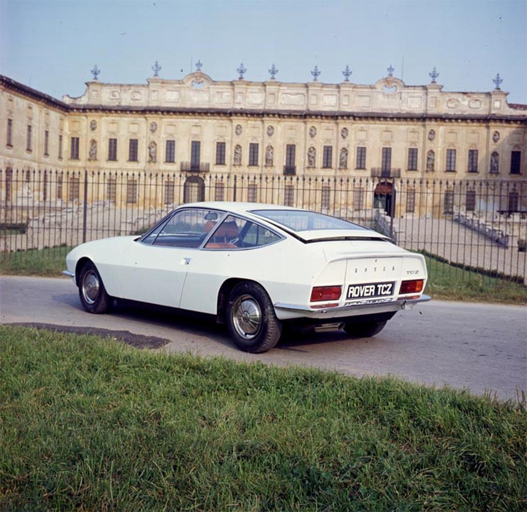 rover 2000 zagato TCZ 1967