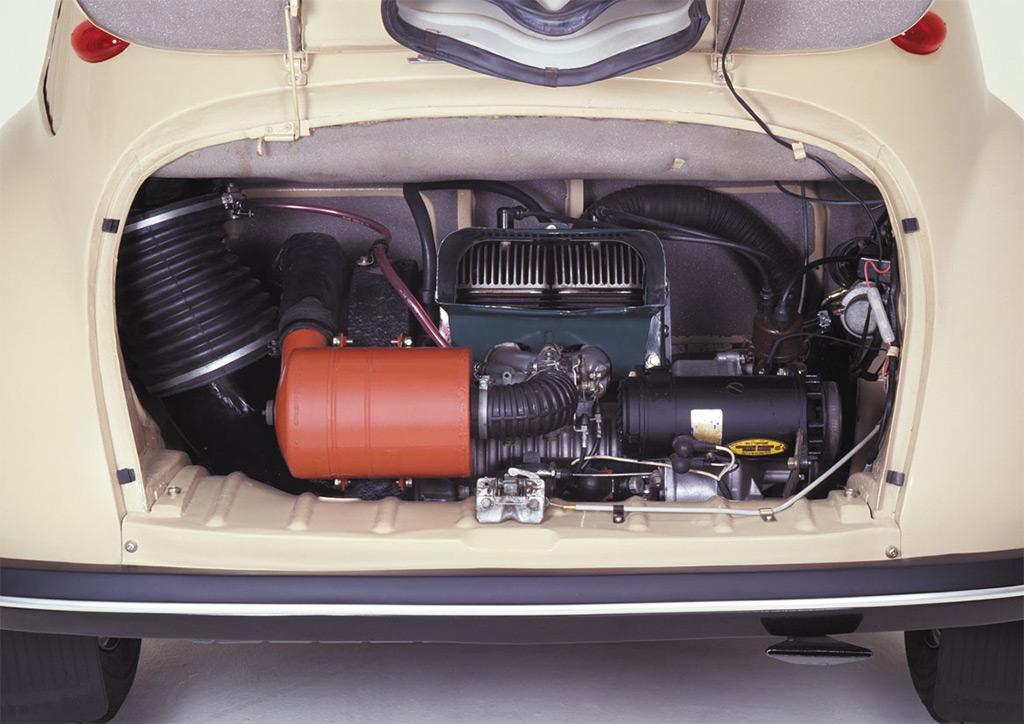 subaru 360 1958 motor