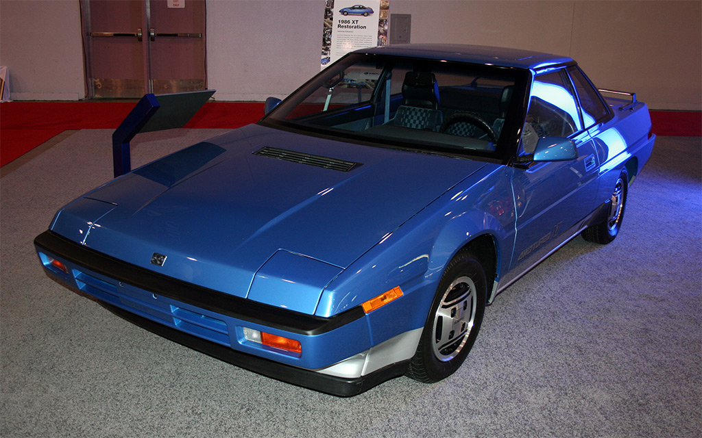 subaru XT 1986