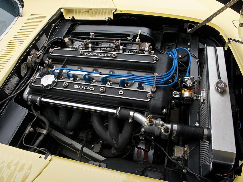 toyota 2000GT motor