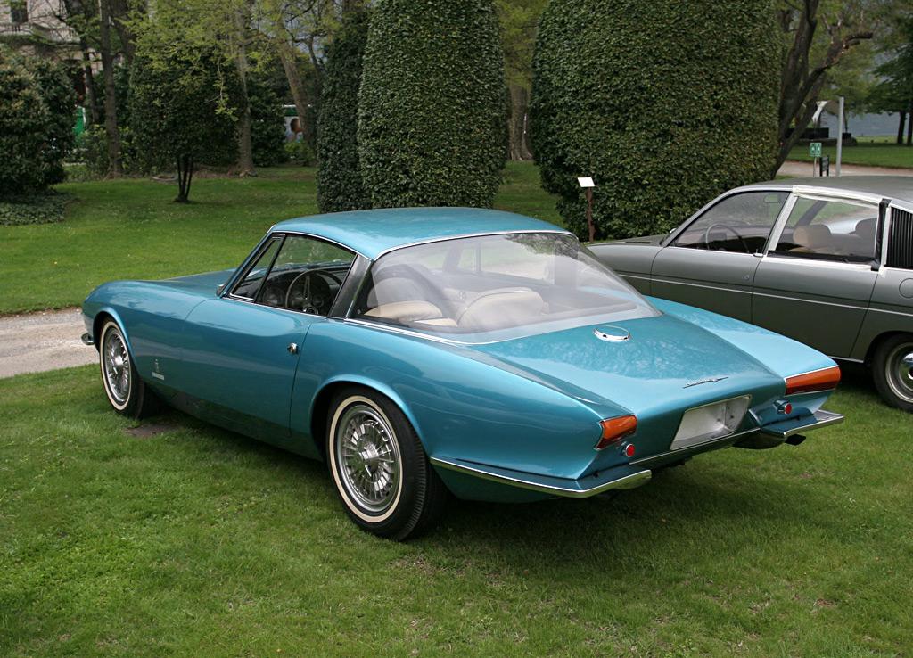Chevrolet Corvette Rondine acherzijde