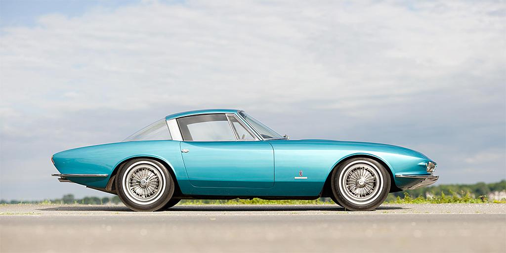 Chevrolette Corvette Rondine zijkant