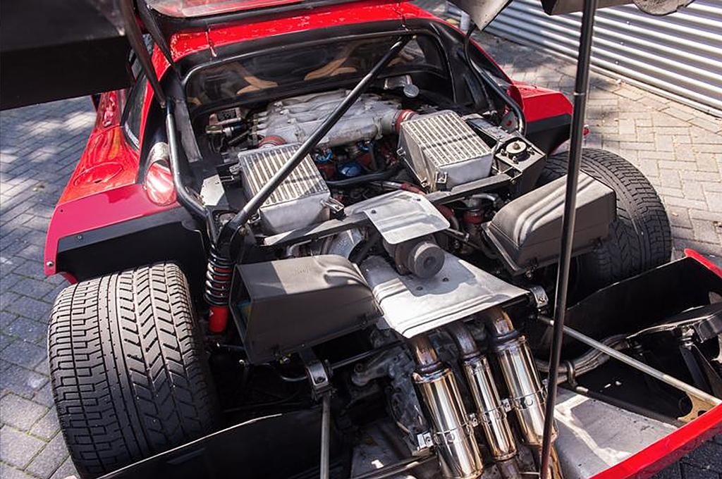 Ferrari F40 mansell motor
