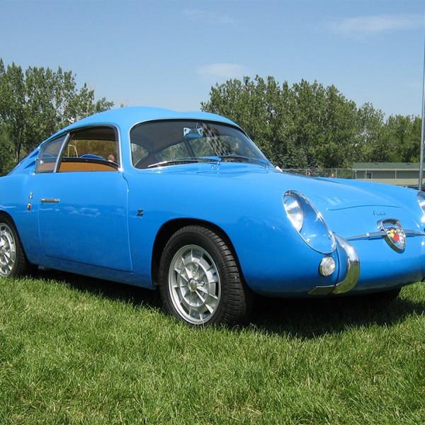 Fiat Abarth 750GT Zagato uit 1959