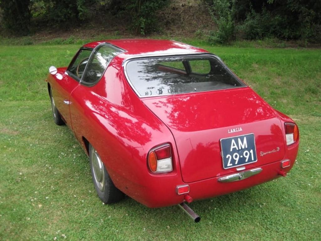 Lancia Flavia Zagato achterzijde