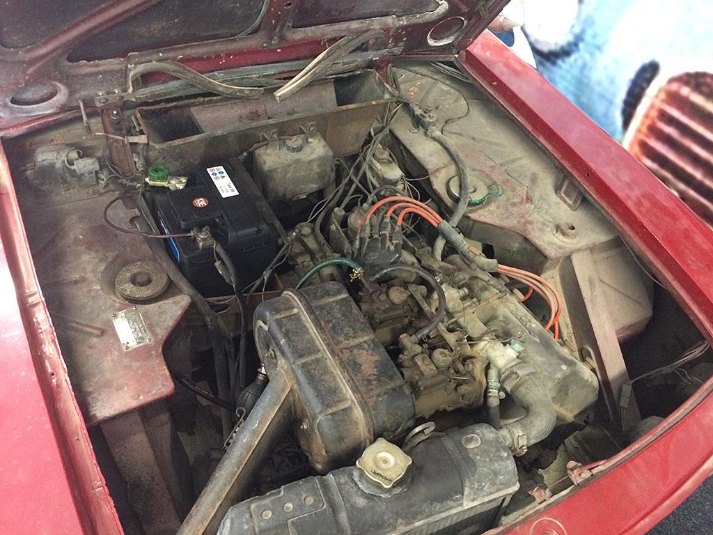 Lancia Fulvia motor