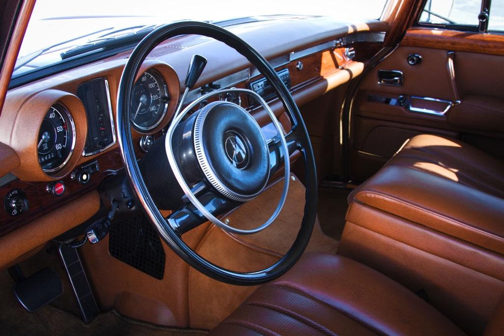 Mercedes-Benz 600 interieur jack nicholson