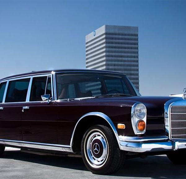 Mercedes-Benz 600 jack nicholson