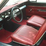 Plymouth barracuda interieur 1967