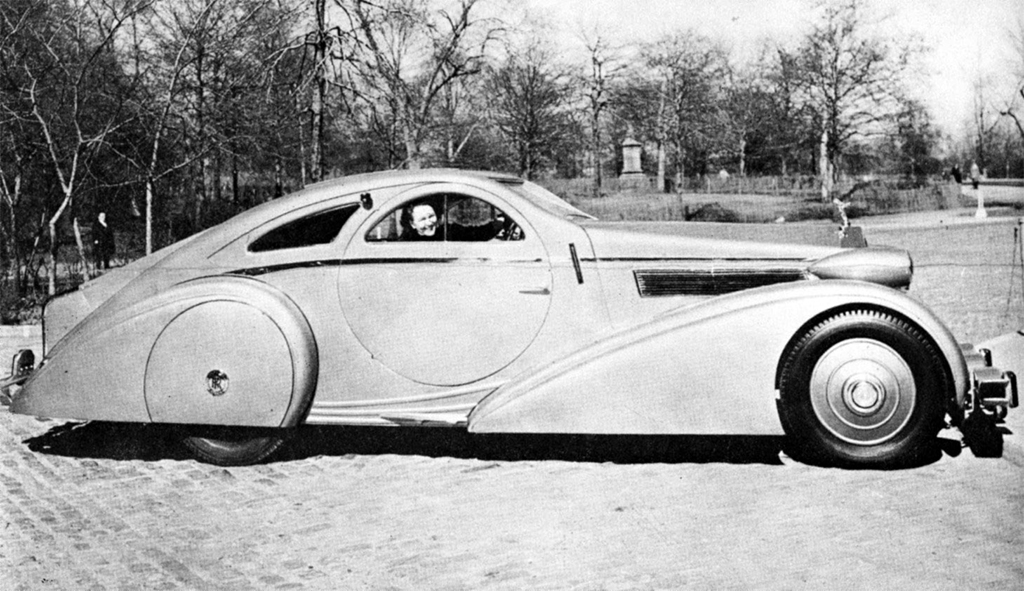 Rolls-Royce Phantom Aerodynamic Coupe Jonckheere 1925