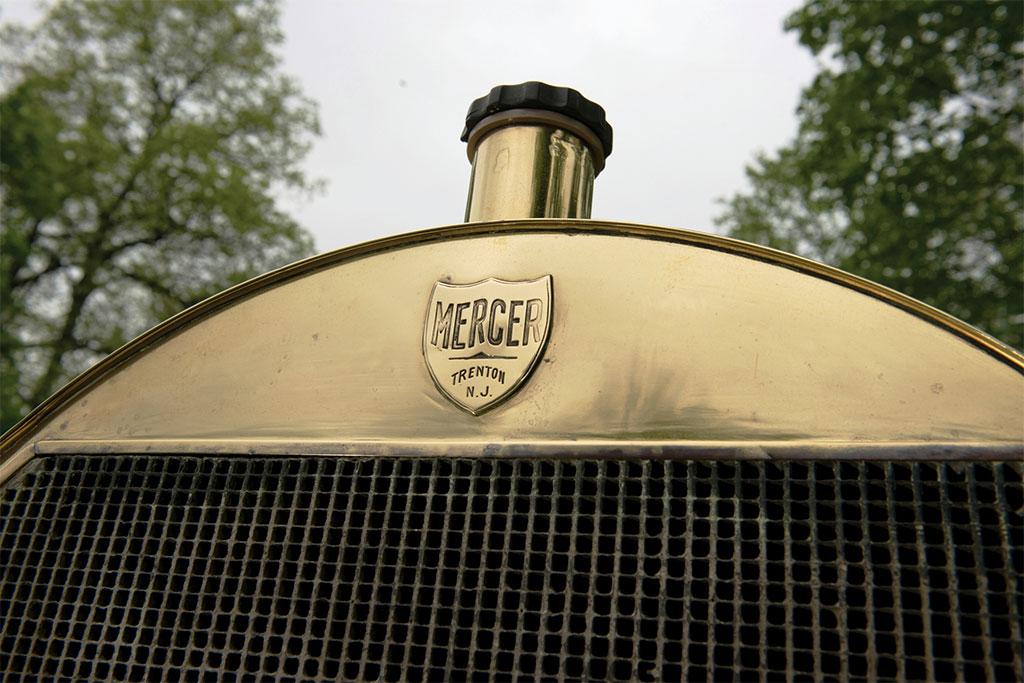 mercer type 35R raceabout 1911 embleem