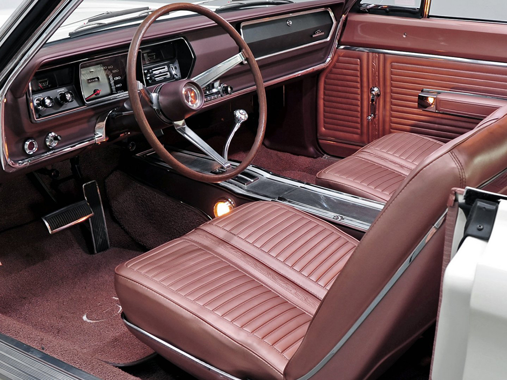 plymouth GTX interieur 1967