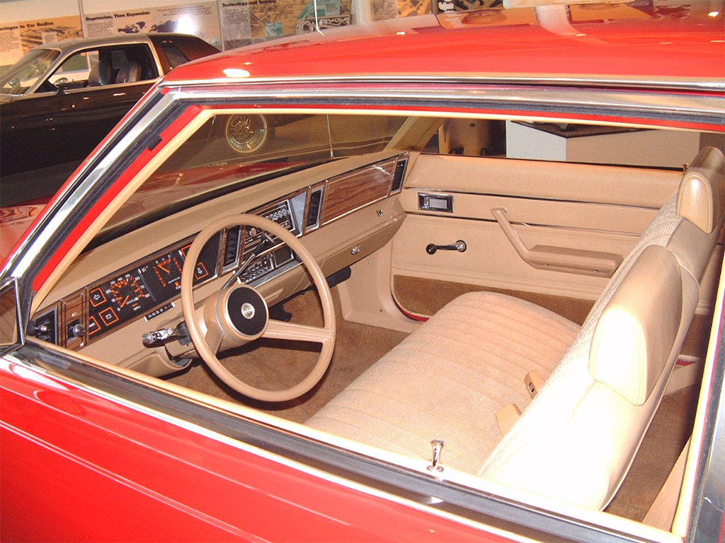 plymouth Reliant interieur 1981