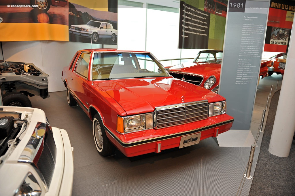 plymouth reliant 1981