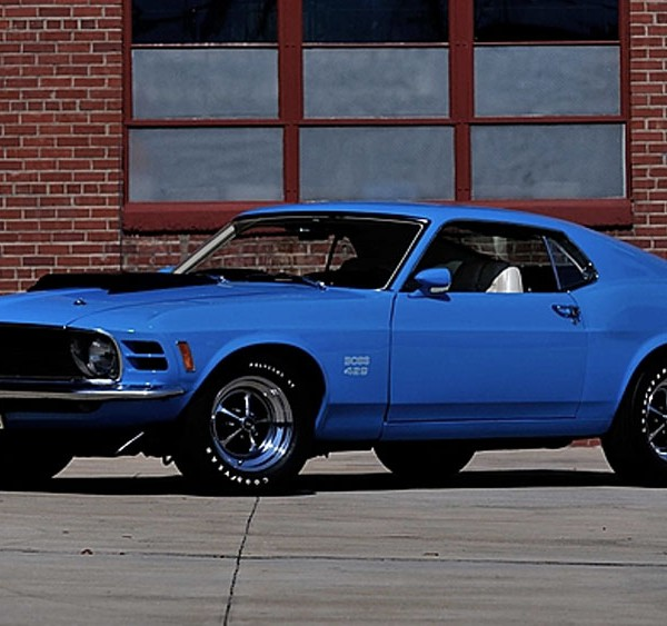 FORD MUSTANG BOSS 429 FASTBACK 1970