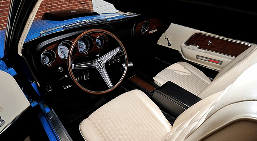 FORD MUSTANG BOSS 429 FASTBACK 1970 interieur
